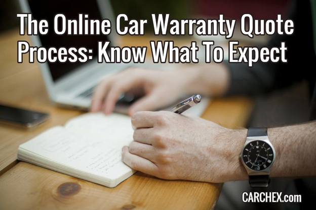 The Online Car Warranty Quote Process: Know What To Expect