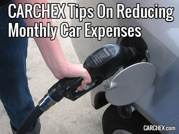 CARCHEX Tips On Reducing Monthly Car Expenses