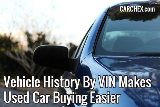 used car history by vin
