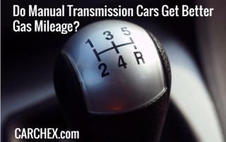 Do Manual Transmission Cars Get Better Gas Mileage?