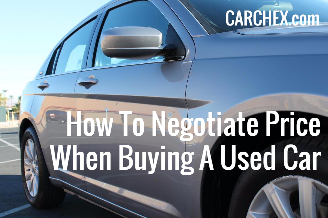how to negotiate a used car buy