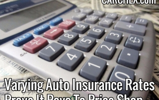 varying auto insurance rates