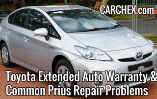 Toyota Extended Auto Warranty and Common Prius Repair Problems