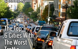 Top Cities With The Worst Traffic