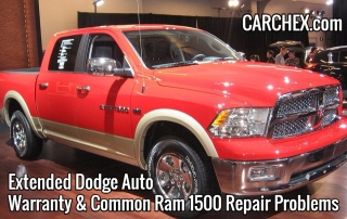 extended dodge auto warranty common ram 1500 problems