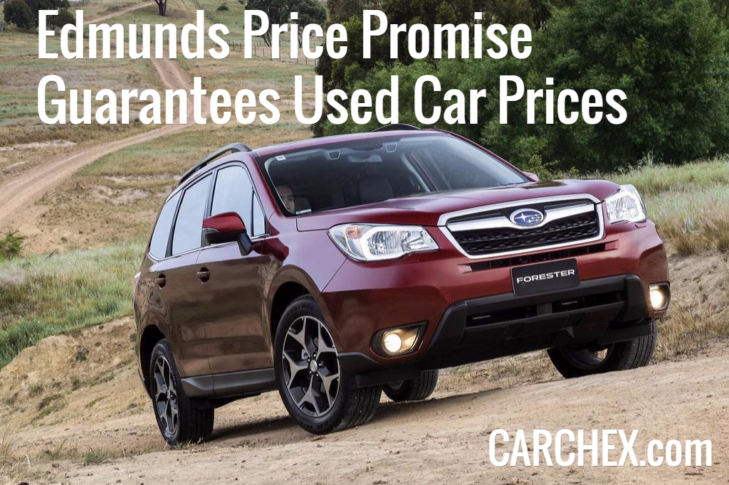 edmunds price promise guarantees used car prices. Black Bedroom Furniture Sets. Home Design Ideas