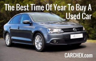 The Best Time Of Year To Buy A Used Car