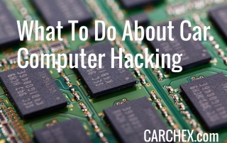 What To Do About Car Computer Hacking