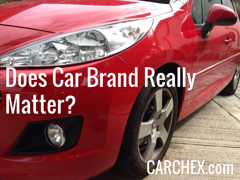 does car brand really matter