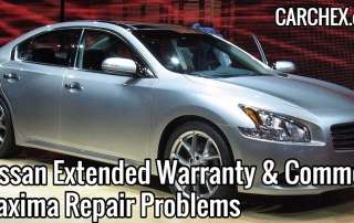 Nissan Extended Warranty Common Maxima Repair Problems