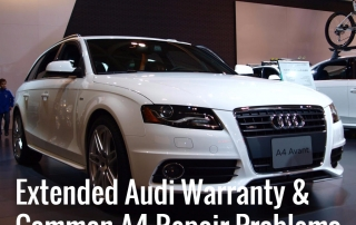 Extended Audi Warranty Common A4 Repair Problems