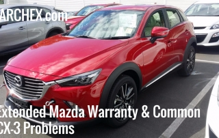 Extended Mazda Warranty Common CX-3 Problems