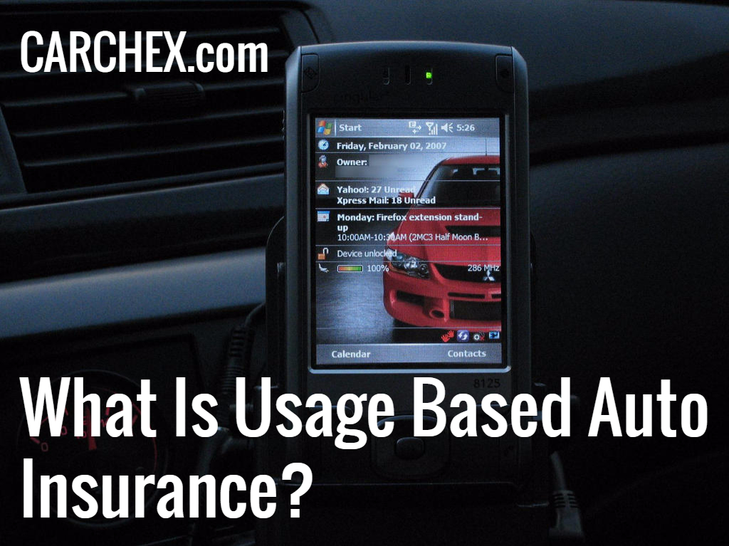 what is usage based auto insurance