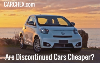 Are Discontinued Cars Cheaper