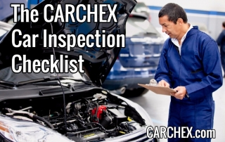 The CARCHEX Car Inspection Checklist