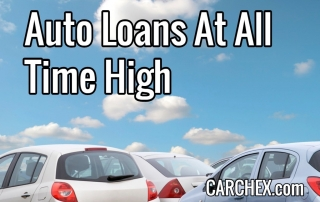 Auto Loans At All Time High