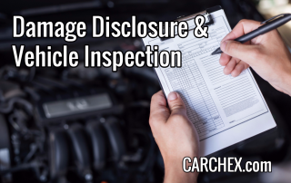 Damage Disclosure and Vehicle Inspection