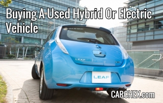 Buying A Used Hybrid Or Electric Vehicle