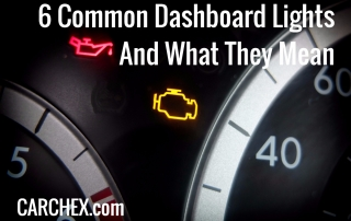 Common Dashboard Lights And What They Mean
