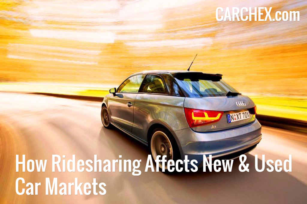 How Ridesharing Affects New & Used Car Markets
