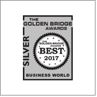 CARCHEX presented with silver Golden Bridge award