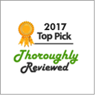 CARCHEX named 2017 pick by ThoroughlyReviewed.com